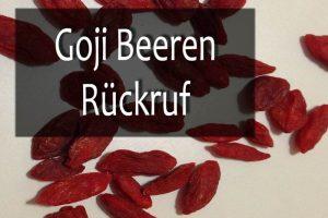 Goji Beeren salmonellen